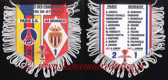 Fanion  PSG-Monaco  2016-17