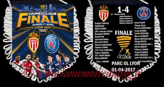 Fanion  Monaco-PSG  2016-17