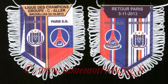 Fanion PSG-Anderlecht 2013-14