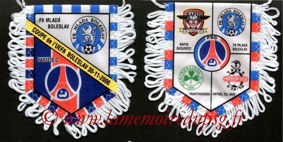 Fanion  Mlada Boleslav-PSG  2006-07