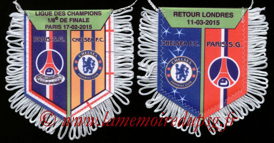 Fanion PSG-Chelsea  2014-15