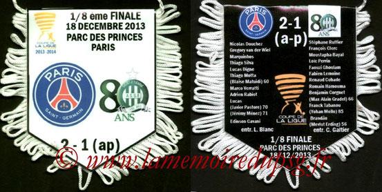 Fanion  PSG-Saint Etienne  2013-14