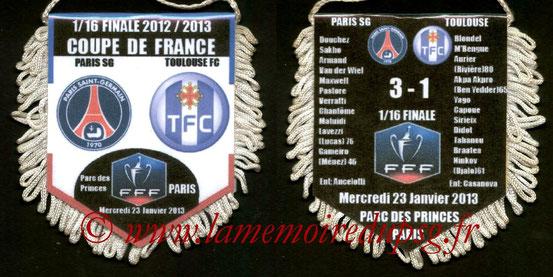 Fanion PSG-Toulouse FC  2012-13