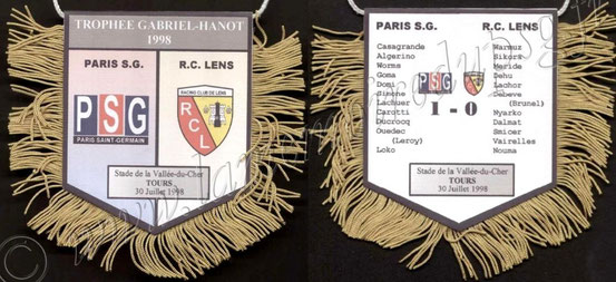 1998-07-30  PSG-Lens (Trophée des Champions à Tours)
