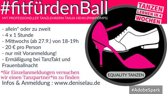 FitfürdenBall  - Tanzen lernen mit Tanja Hehn