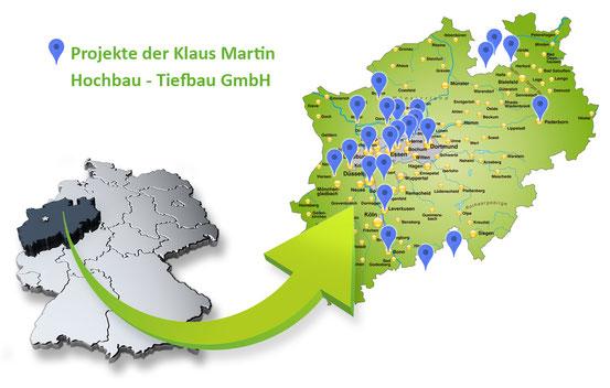 Martinbau - Exemplarische Projekten in NRW und darüber hinaus