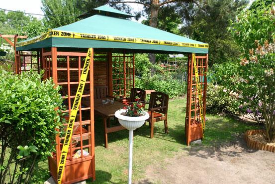 Der Gartenpavillon Sonnensegel Pavillons Gartenwedlers