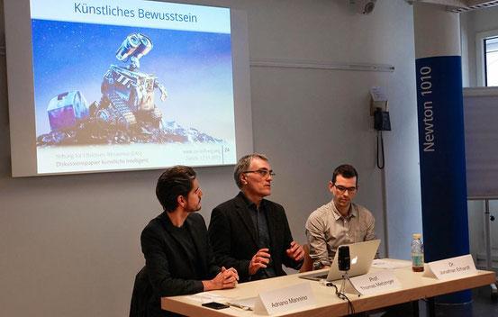 Thomas Metzinger (Mitte)