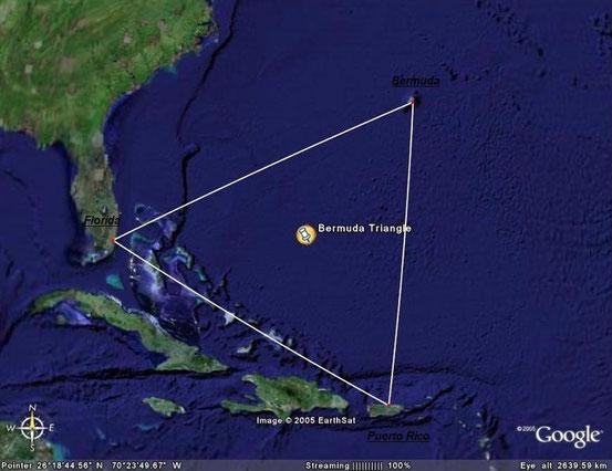 Lage des Bermuda-Dreiecks
