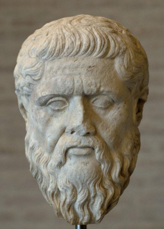 Platon, römische Kopie des griechischen Platonporträts desSilanion, Glyptothek München