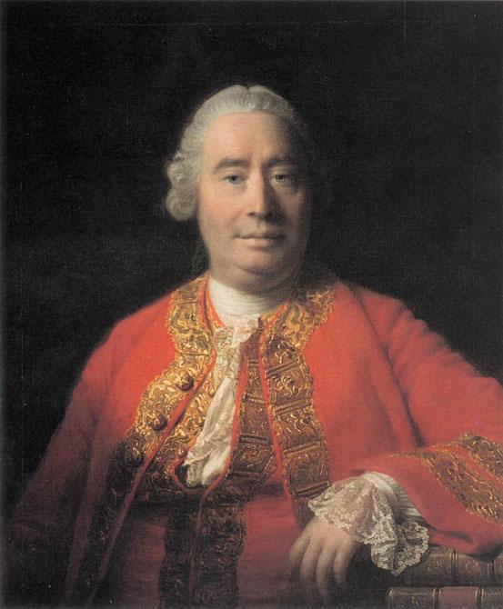 David Hume (1766; Porträt von Allan Ramsay)