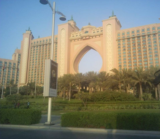 Atlantis Dubai auf The Palm Jumeirah.