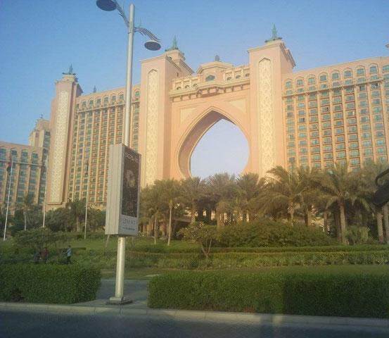 Atlantis Dubai auf The Palm Jumeirah.