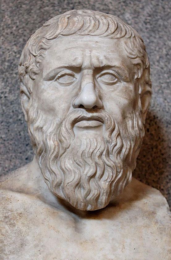 Platon im Museo Pio-Clementino