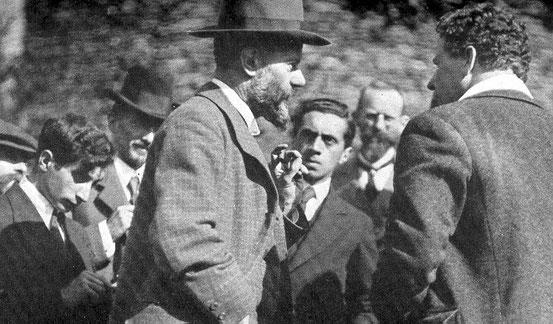 Weber 1917 auf der Lauensteiner Tagung.