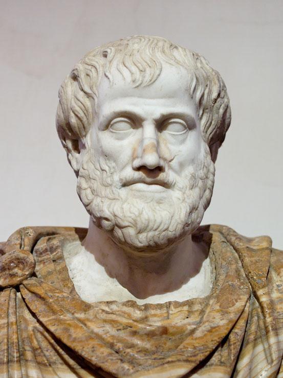 Aristoteles, Büste im Palazzo Altemps, Rom