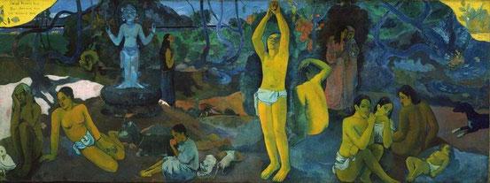 Paul Gauguin: Woher kommen wir? Wer sind wir? Wohin gehen wir? (1897/98)
