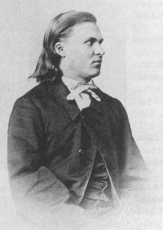 Nietzsche als 18-Jähriger, 1862