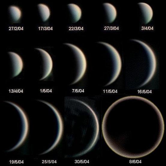 Die Phasen der Venus – ESO
