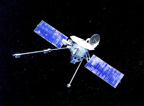 Die NASA-Sonde Mariner 10