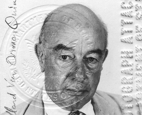 Willard Van Orman Quine (Passbild)