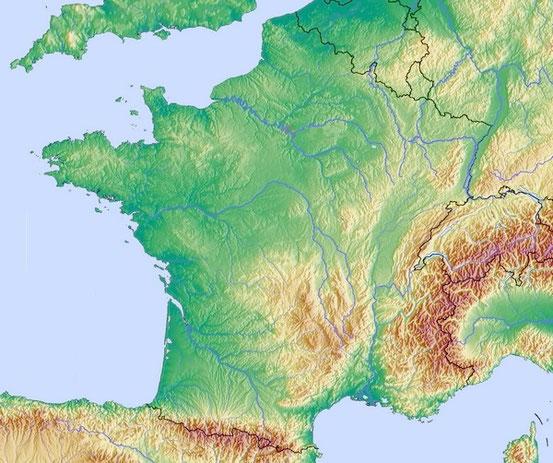 Frankreich ist nach Alltagsstandards sechseckig