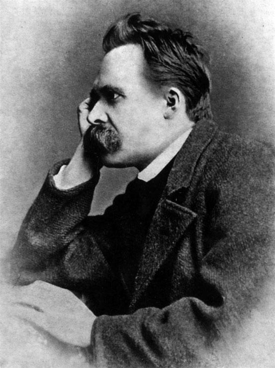 Friedrich Nietzsche, 1882 (Photographie von Gustav Adolf Schultze)