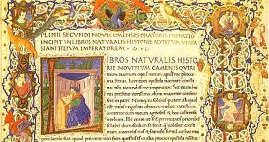 Natural History, Schrift des Plinius.