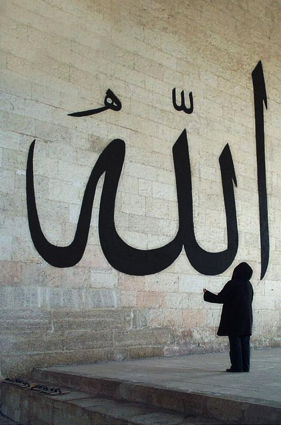 Allah hat keine Macht, der Glaube an ihn schon.
