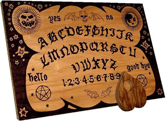 Ein Ouijabrett