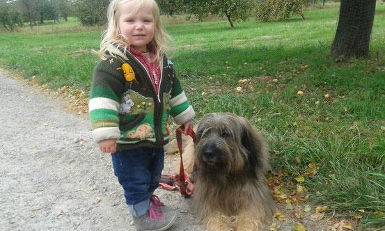 Enkeltöchterchen Leonie mit Ben