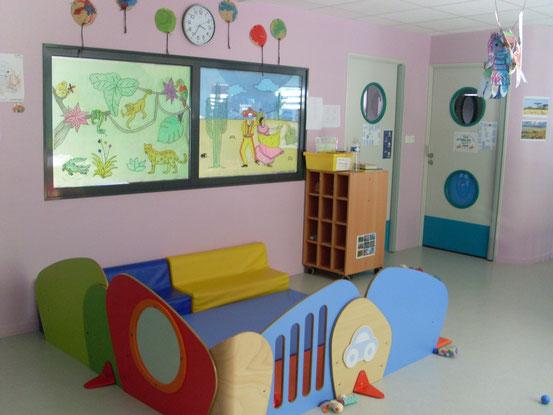 Une salle d'accueil