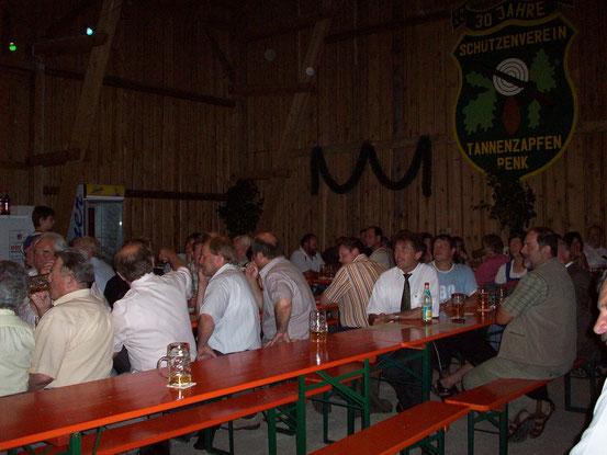 Bilder zum 50jährigen Gründungsfest der Tannenazpfenschützen aus Penk