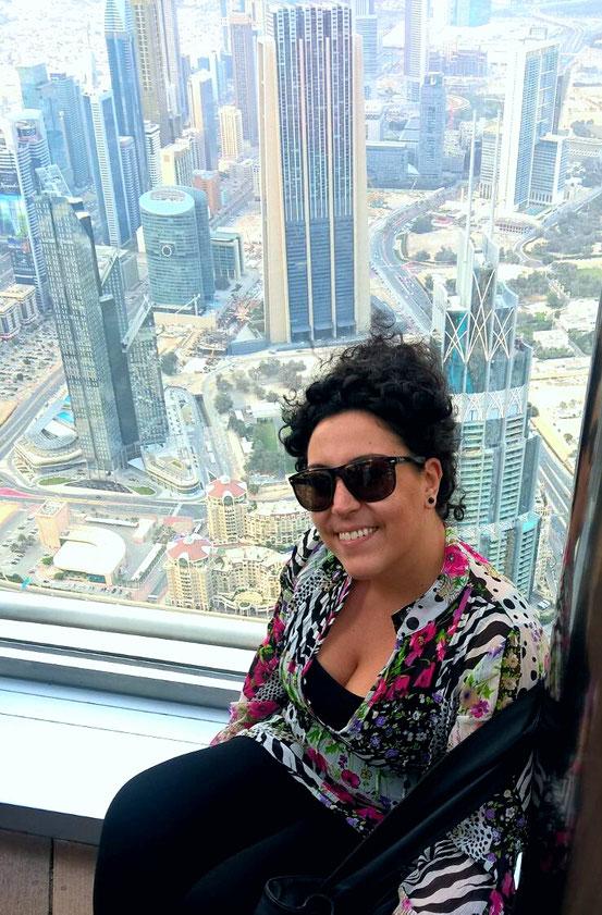 Vista da At The Top Burj Khalifa