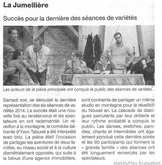 Ouest France 04/03/2014