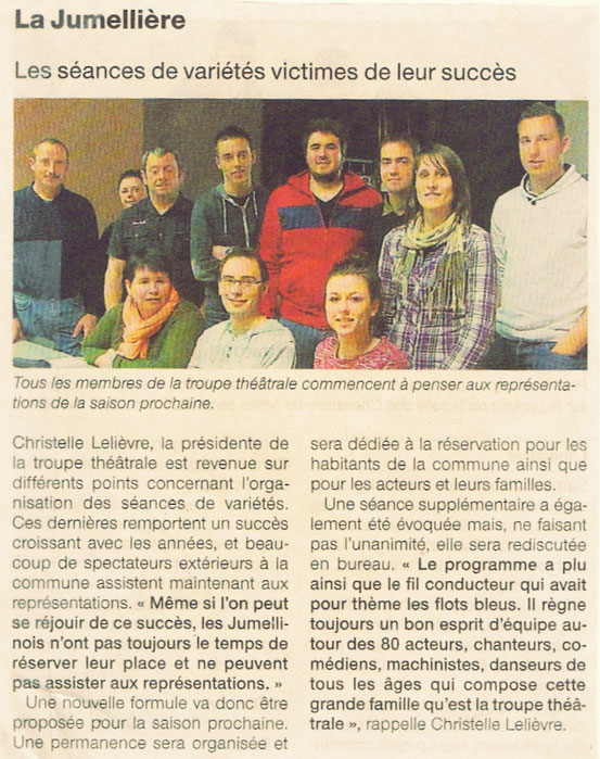 Ouest France 21/04/2015