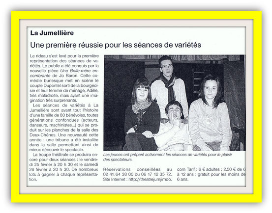 Ouest France 21-02-2011