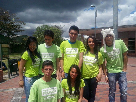 Voluntarios GreenPeace
