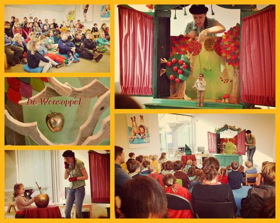 lappie lapstok, kindertheater, rijdend marionettentheater, kindervoorstelling, poppentheater, figurentheater, kinderfeestje knokke, kinderfeestje brugge