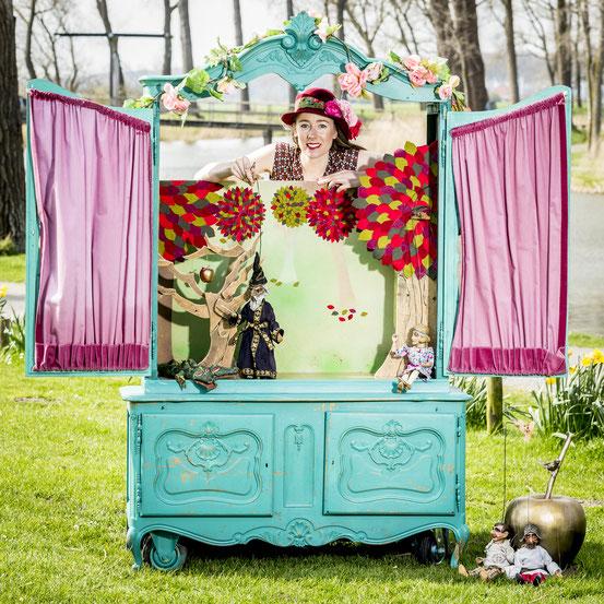lappie lapstok, kindertheater, poppentheater, kinderanimatie, figurentheater, theaterfestival, marionettentheater