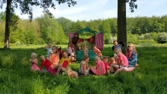 lappie lapstok, kindertheater, poppentheater, figurentheater, kinderfeestje