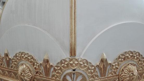 Ornament 'Bayadere' // Bühnenplastik: Deike Heeren // Bühnenbild: Jérôme Kaplan // plastische Gestaltung
