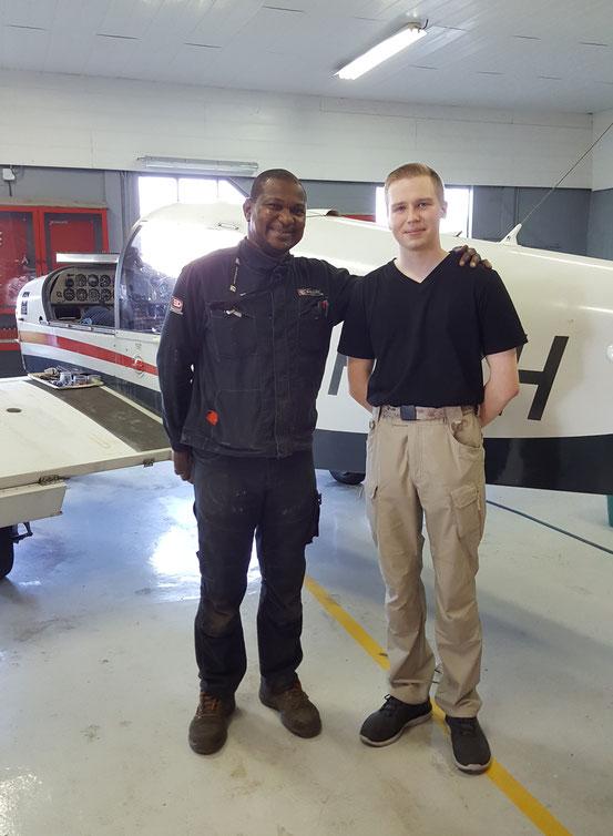 Yves-Noël, Chef Mécanicien avec Gabriel