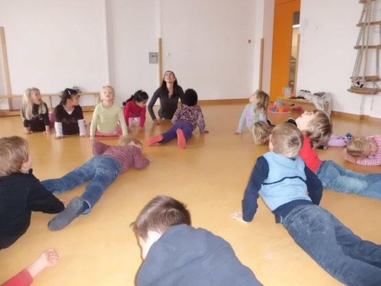 Übungen mit Vorschulkindern