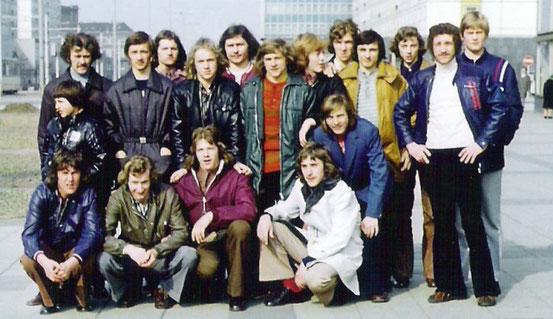 A-Jugend 1974 Bezirksmeister zur DDR Meisterschaftsvorrunde