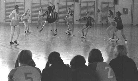 Spiel gegen weibl. A-Jugend gegen ASK Frankfurt/O. 1974