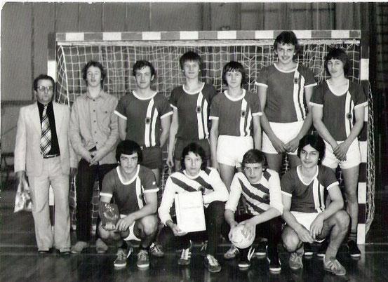 A-Jugend 1981 Bezirksmeister