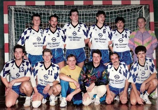 Einheit Männer Bezirksmeister 1991/92