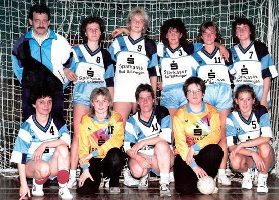Einheit Frauen Bezirksmeister 1991/92
