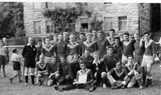 Rückspiel gegen Böddiger 1958 auf dem Haad